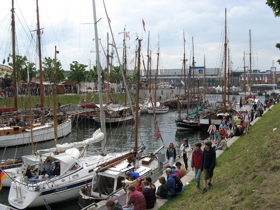 Hafen in Kieler Woche 2012