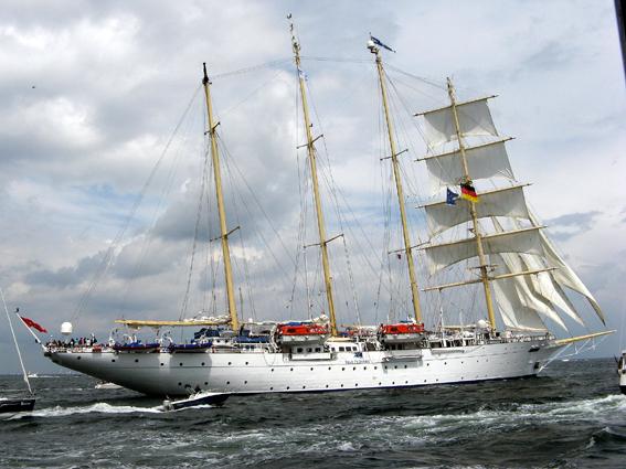 Star Flyer in Kieler Woche 2012