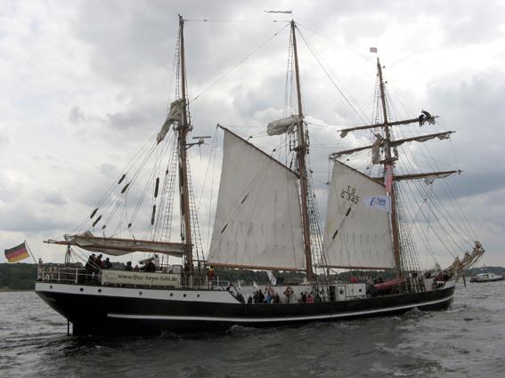 Thor-Heyerdahl in Kieler Woche 2012